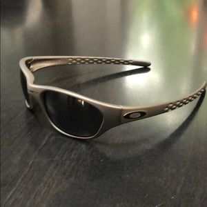 2d8f789b4b ... discount code for oakleys mens xx fives matte silver sunglasses 7fee7  41f9a